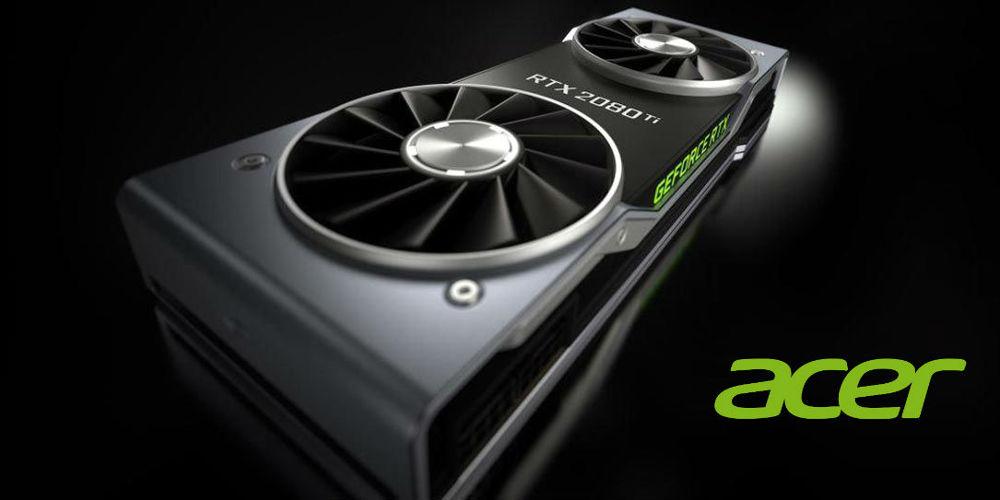 Acer Nvidia Turing notebool