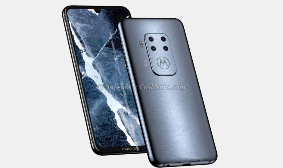 Smartphone Motorola con 4 obiettivi: leaked image