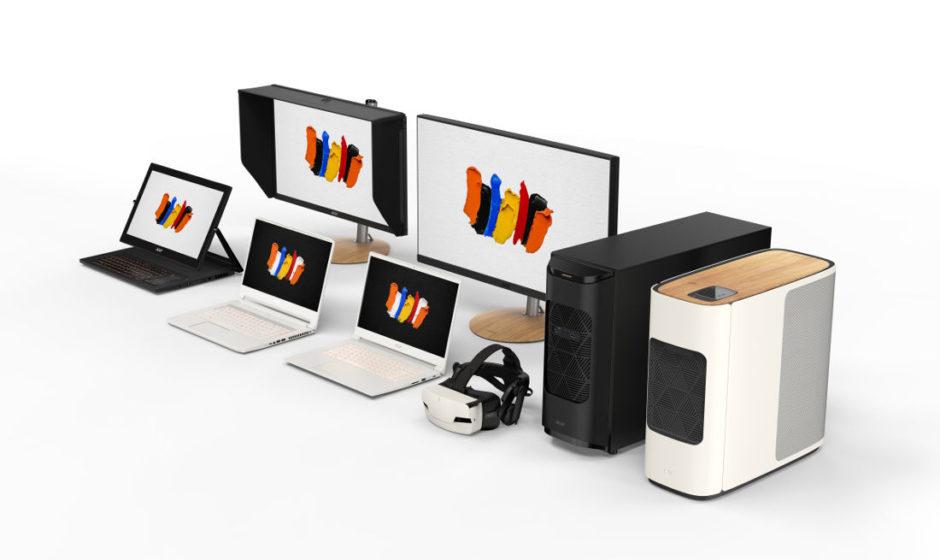 Acer ha annunciato ConceptD prodotti per creativi