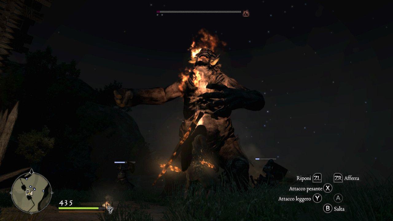Dragon's Dogma Dark Arisen Combattimento e Ogre