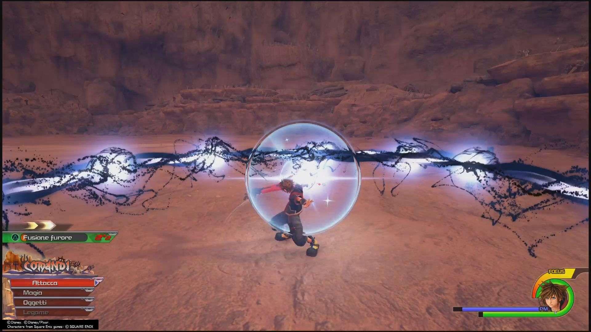 Kingdom Hearts III boss segreto Inferno Nero