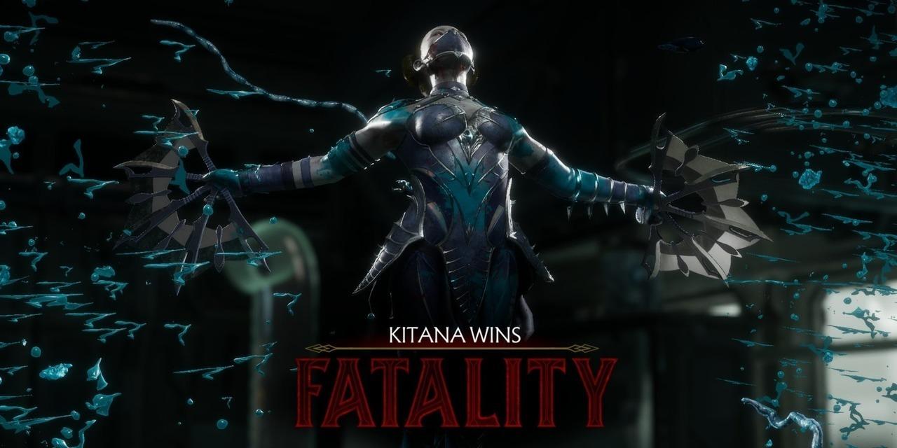 Mortal Kombat 11 Fatality Kitana