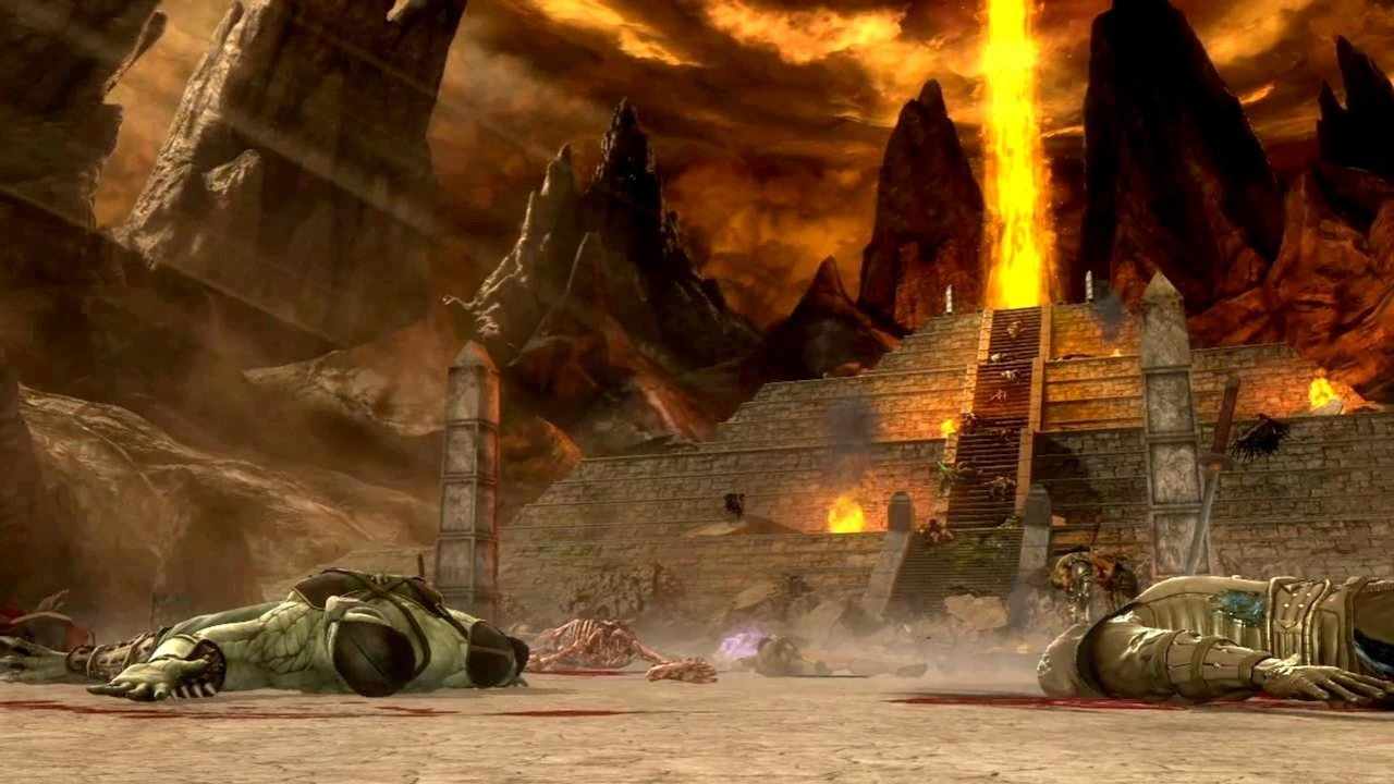 Mortal Kombat storia Pyramid of Argus