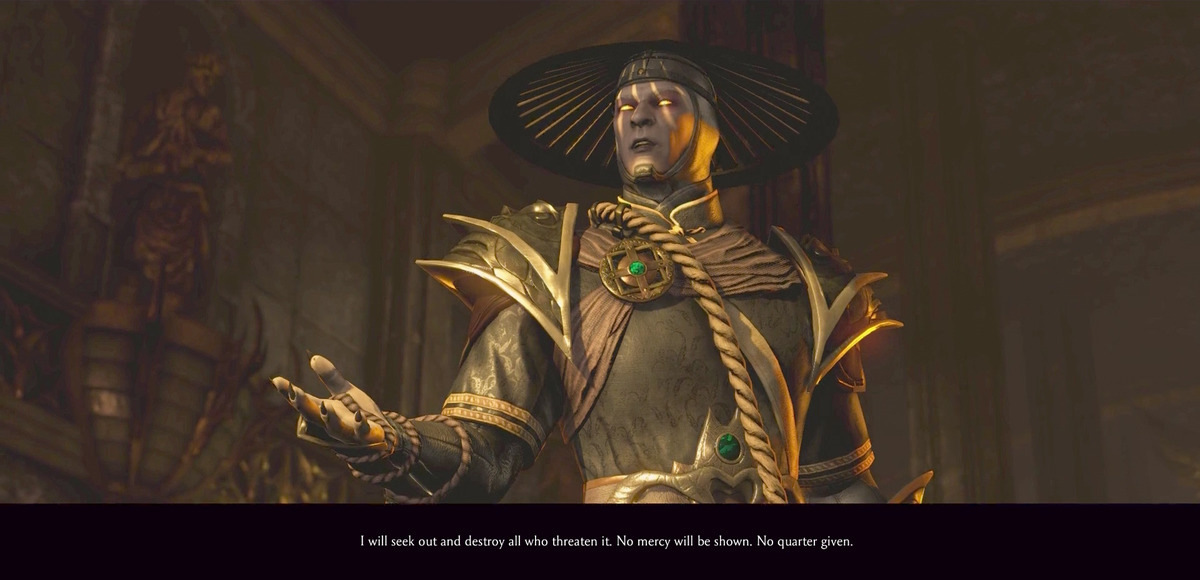 Mortal Kombat storia X dark Raiden