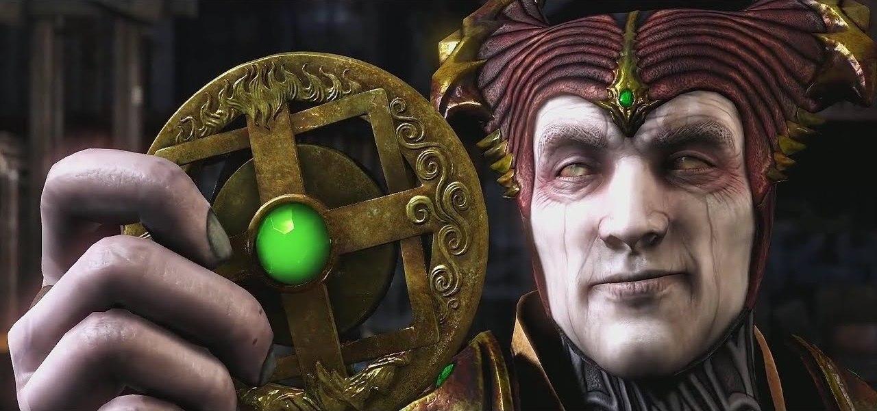 Mortal Kombat storia amuleto Shinnok