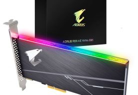 Gigabyte distribuisce Aorus RGB AIC NVMe SSD