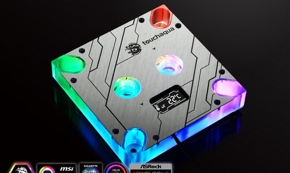 Bitspower Touchaqua: Nuovo Waterblock CPU Intel