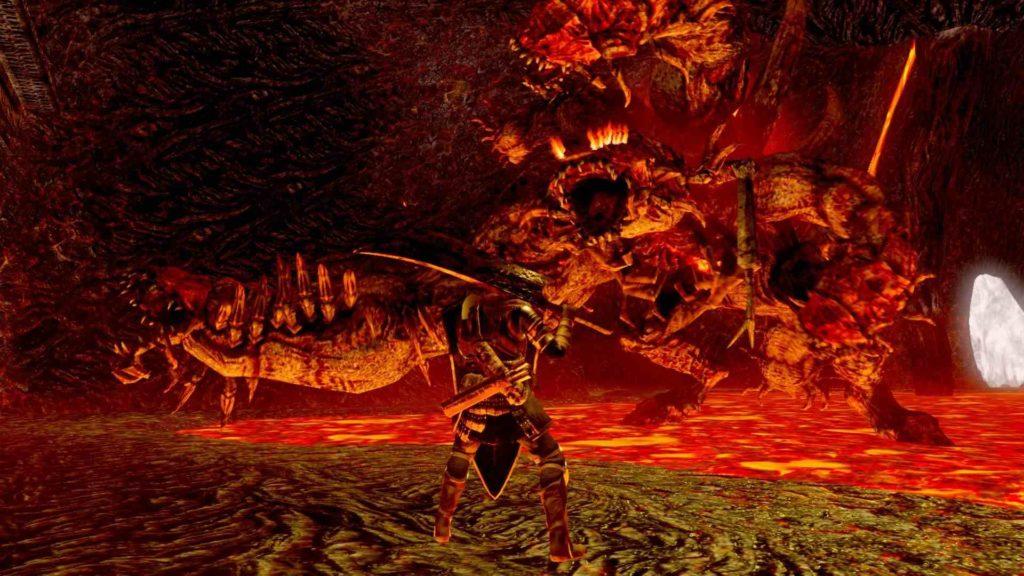 Arena Demone Centipede Dark Souls