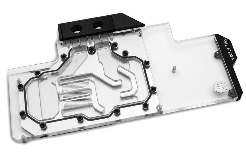 EK Vector Trio nuovi radiatori