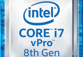 Intel mobile vPro processori di ottava generazione