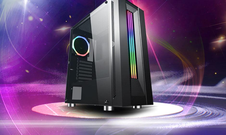 DIYPC: annunciato un nuovo case con barra luminosa RGB