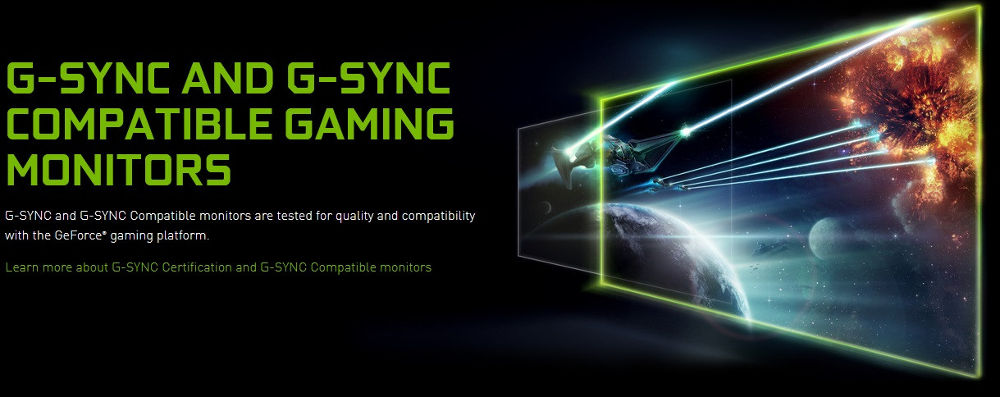Nvidia aggiunge monitors G-Sync compatible