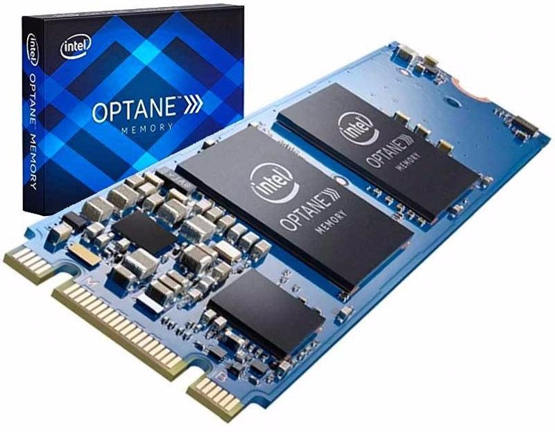 Intel Optane e NAND QLC