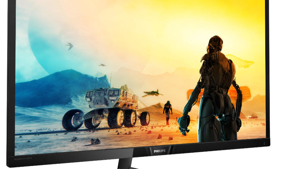 """Philips Momentum 32"""" 4K UHD per il console gaming"""