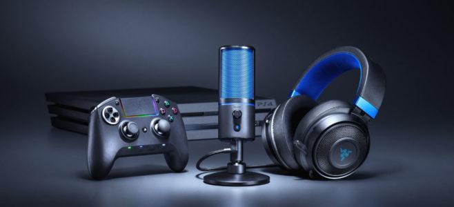 Razer Seiren X il microfono per lo streaming su PS4