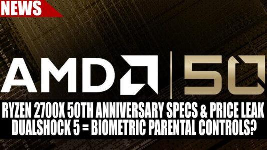 AMD Ryzen 7 2700 X 50th anniversary