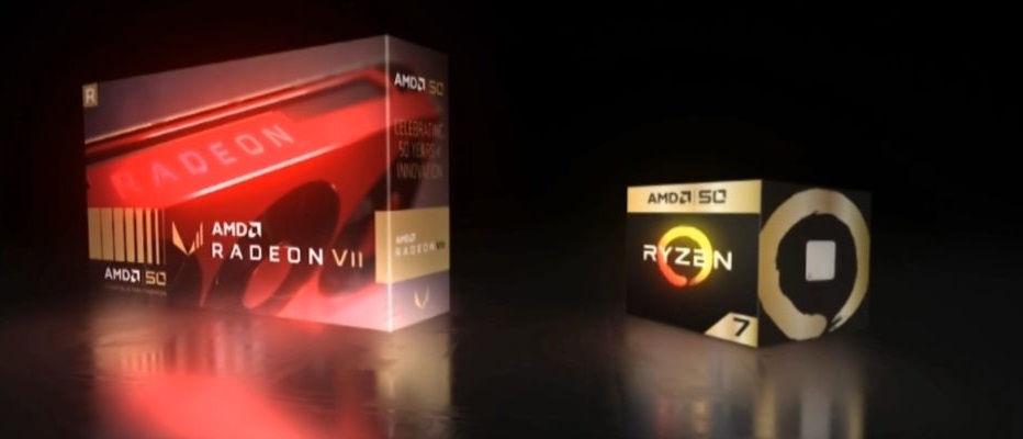 AMD 50th anniversary Radeon and Ryzen