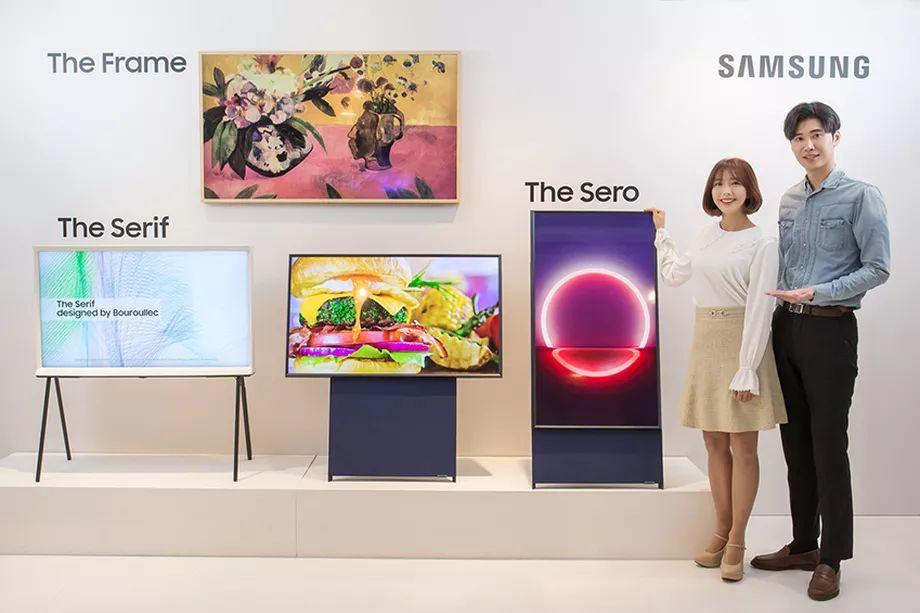 Samsung rivela Sero, TV per i millennial