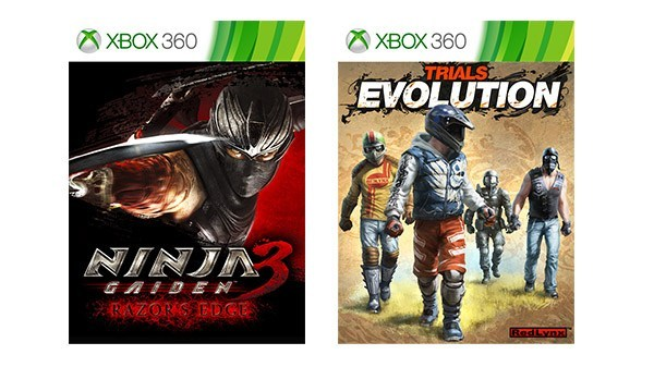 Ninja Gaiden 3 e Trials Evolution ora retrocompatibili