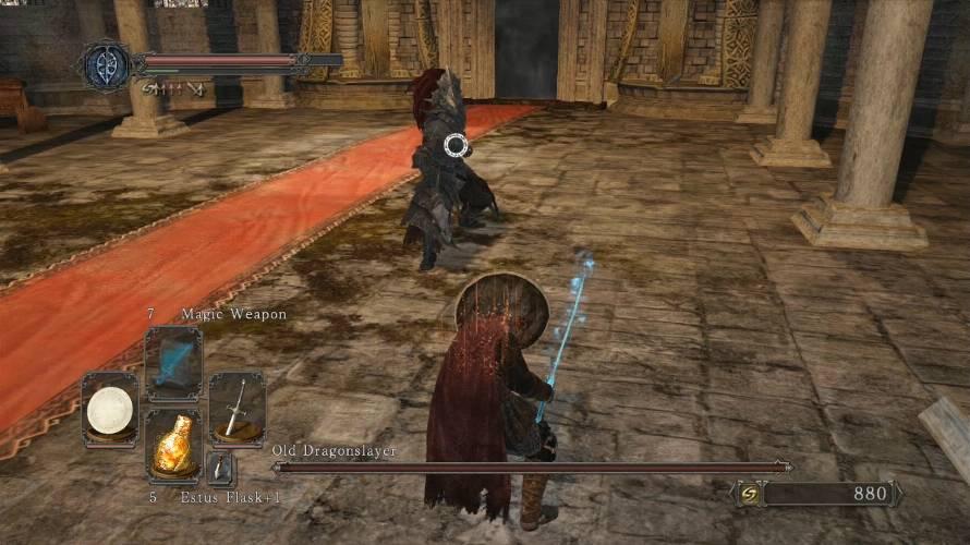 Dark Souls II Vecchio Ammazzadraghi