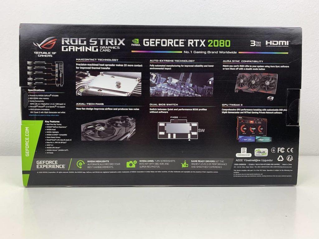 Asus ROG Strix Geforce RTX 2080