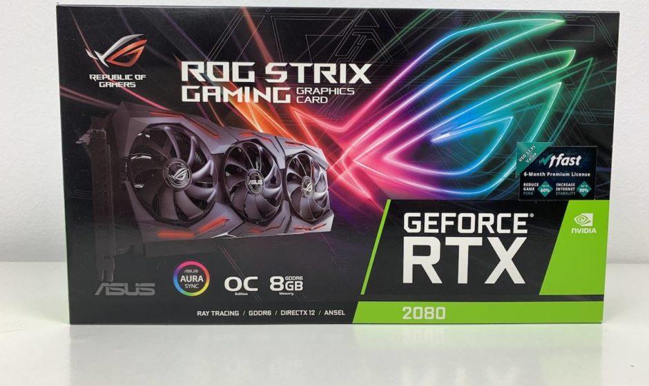 Asus ROG Strix Geforce RTX 2080 - Recensione