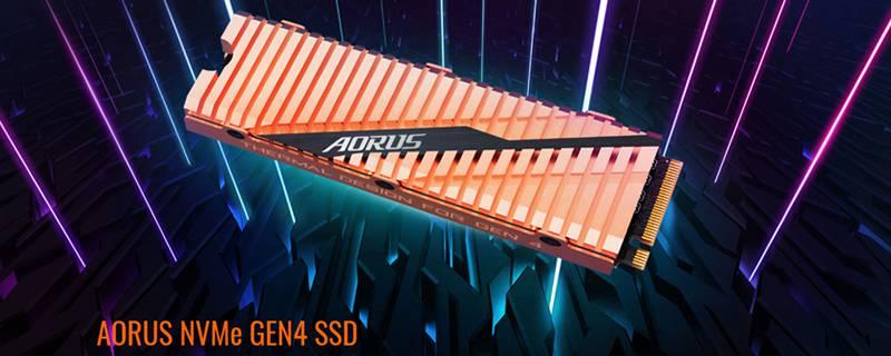 Aorus ha rivelato il suo nuovo SSD NVMe PCIe 4.0