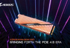 AORUS: in arrivo un SSD NVMe PCIe 4.0