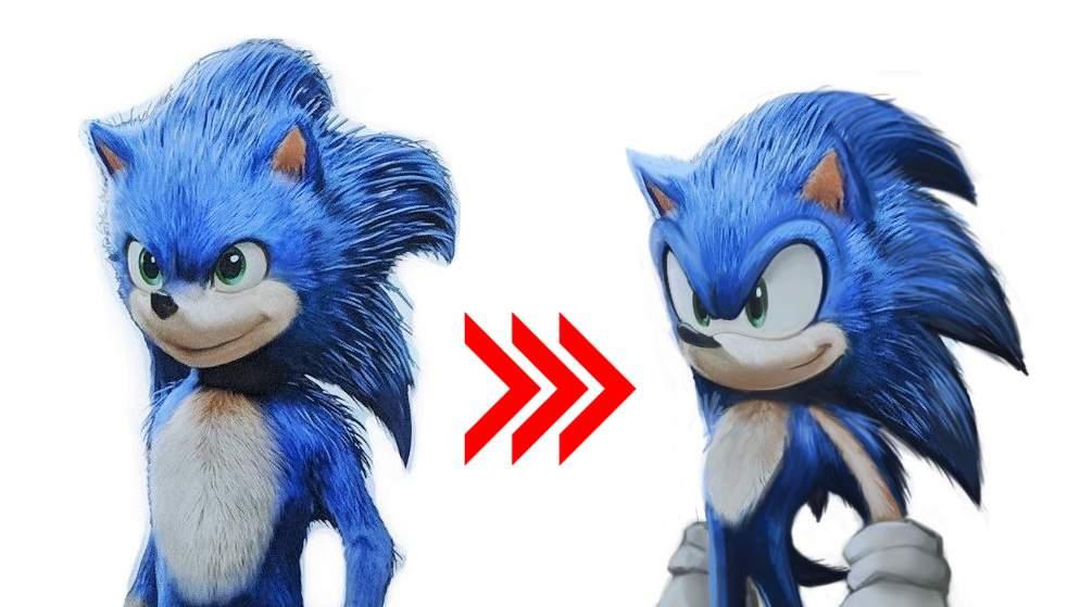 Sonic il film design