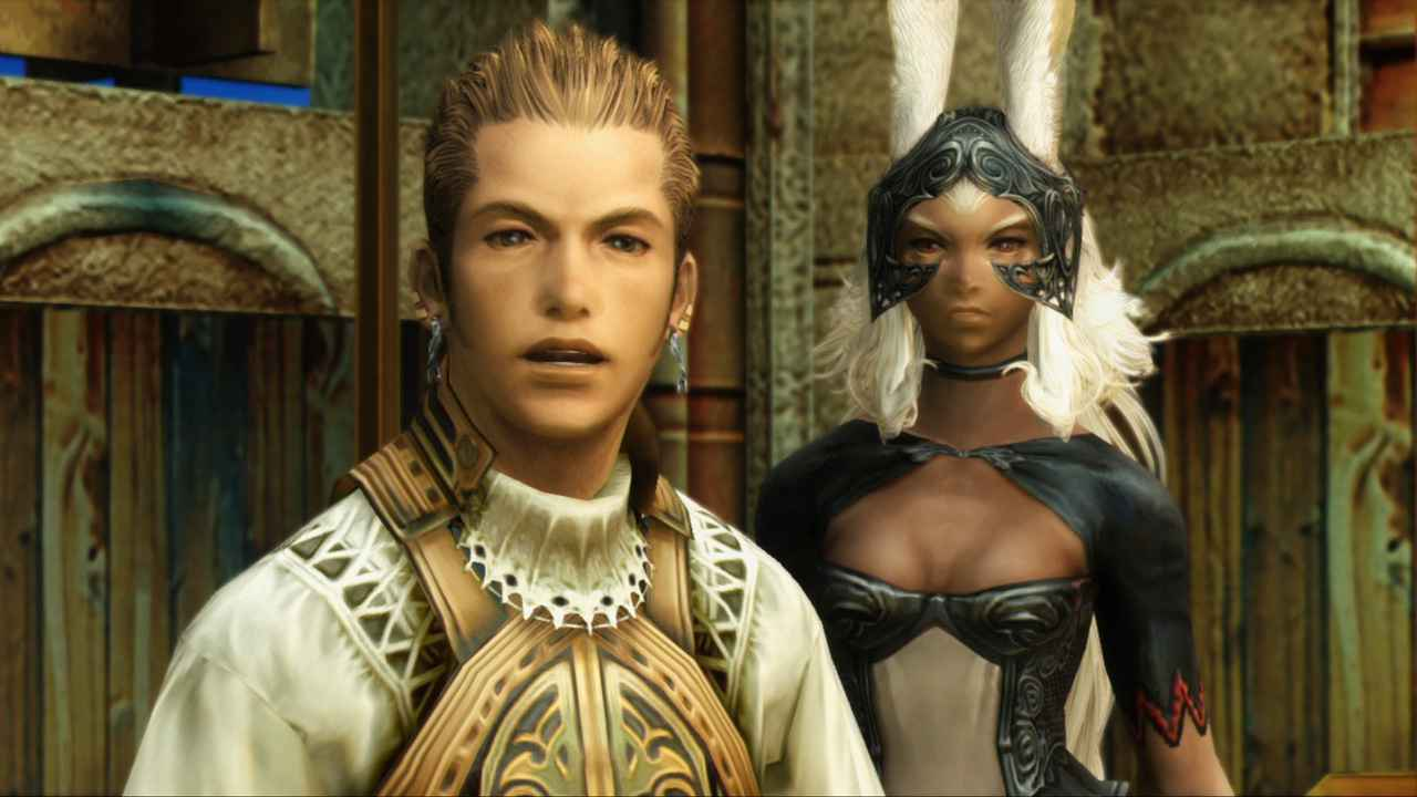 Final Fantasy XII The Zodiac Age Balthier Fran