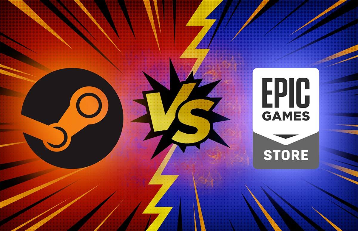 Steam vs Epic Games Store Guerra di Esclusive