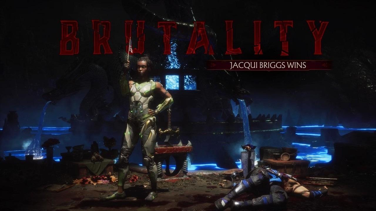 Mortal Kombat 11 Brutality Jacqui