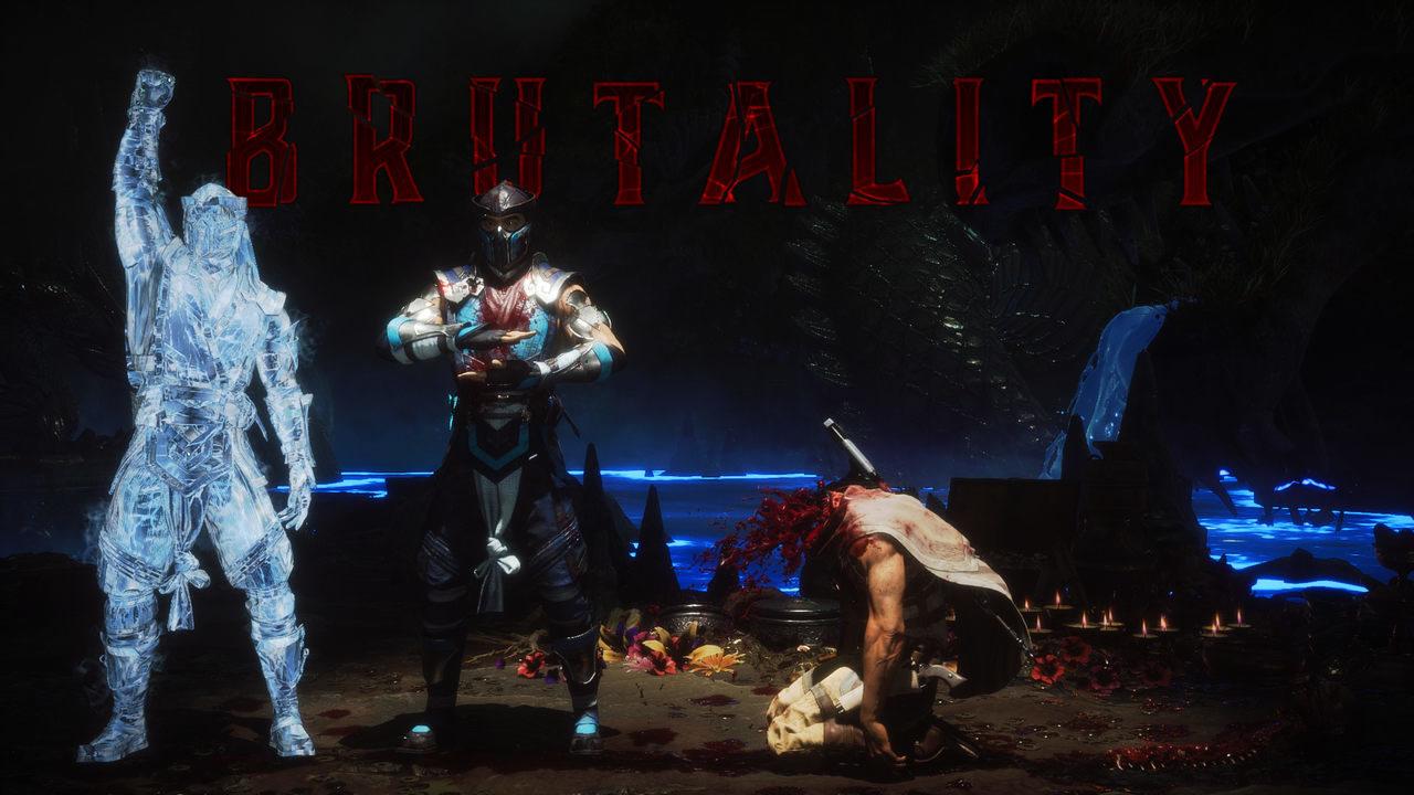 Mortal Kombat 11 Brutality Sub-zero