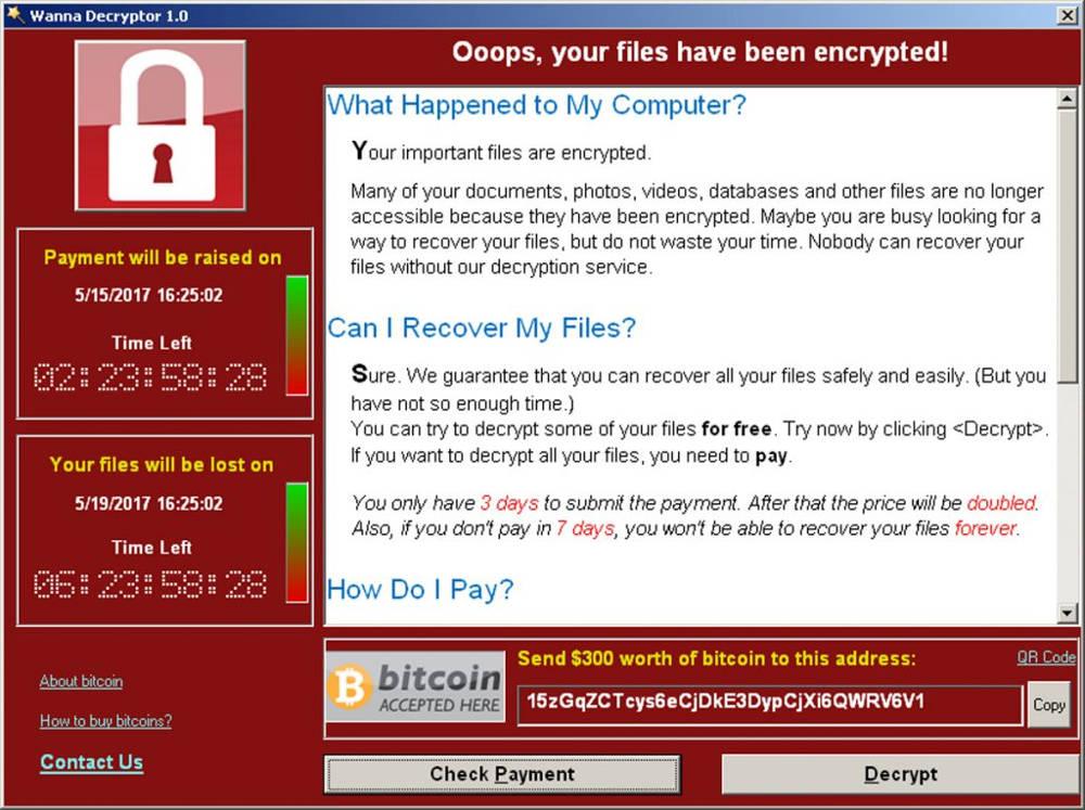 WannaCry malware