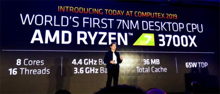 AMD Ryzen 3700X annuncio
