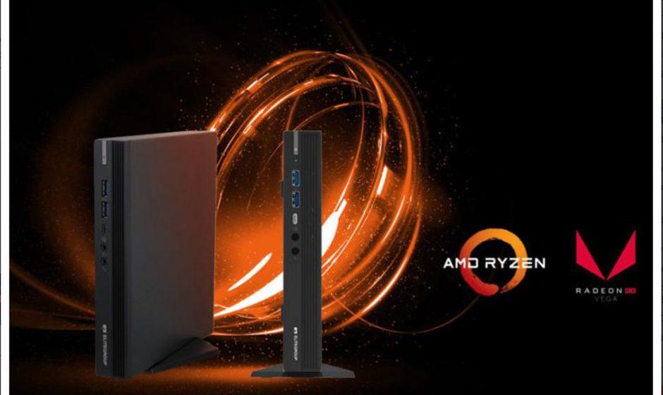 ECS LIVA A320 Mini PC con processore AMD Ryzen