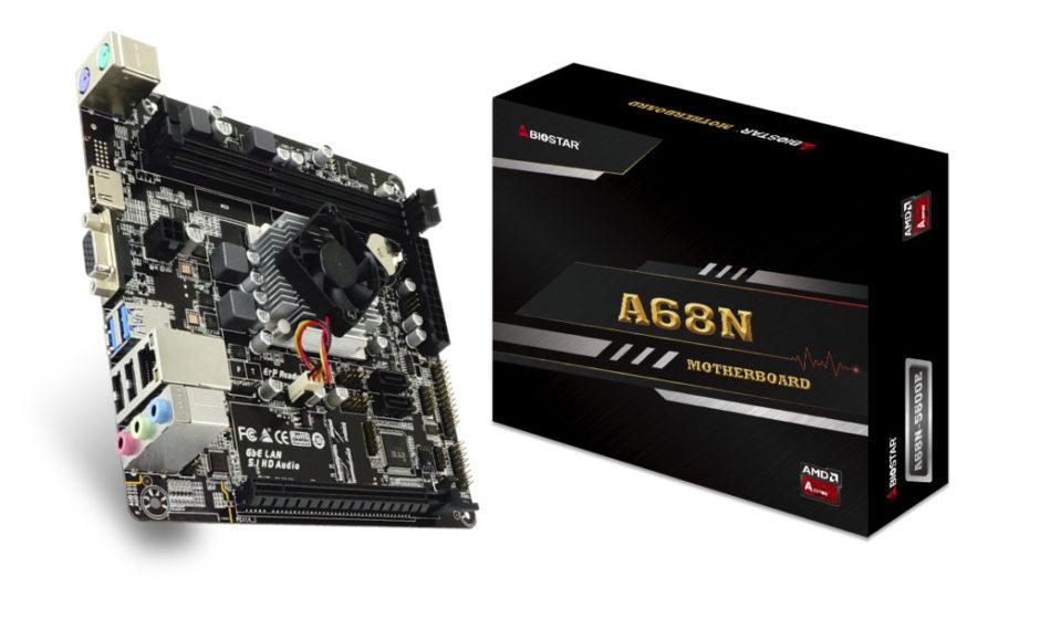 BIOSTAR: presenta la nuova scheda madre A68N-5600E