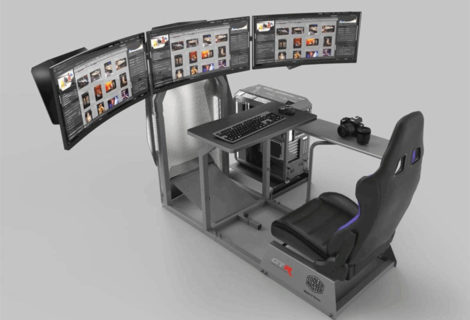 Collaborazione CoolerMaster GTR Simulator in vista