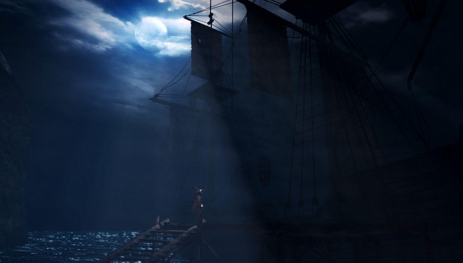 La nave che porta alla Bastiglia e le Sentinelle in Dark Souls 2