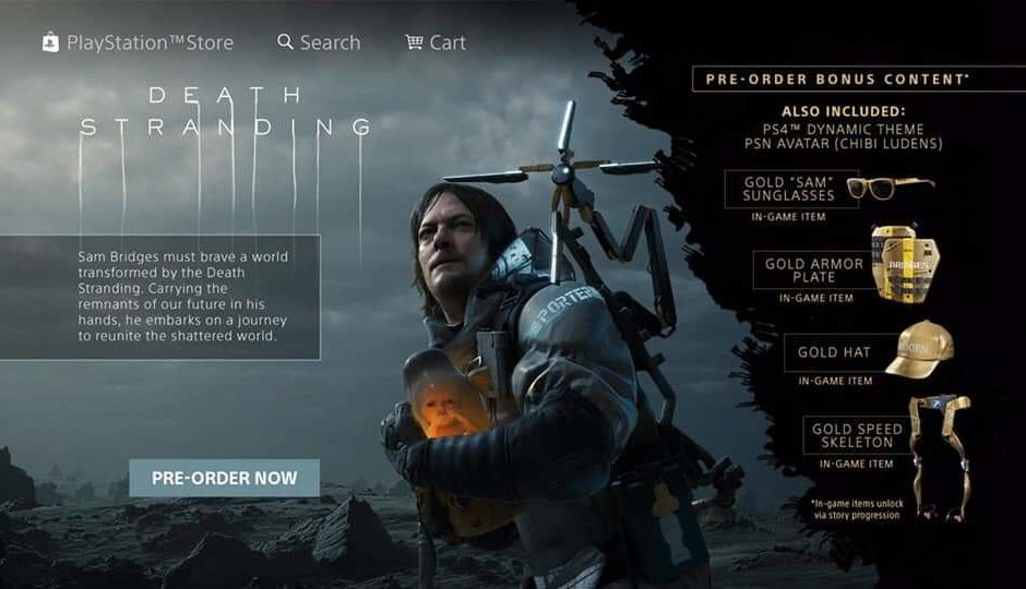 Death Stranding: Pre-Order disponibile su PS Store