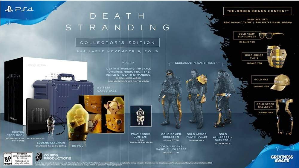 DEATH STRANDING LIMITED