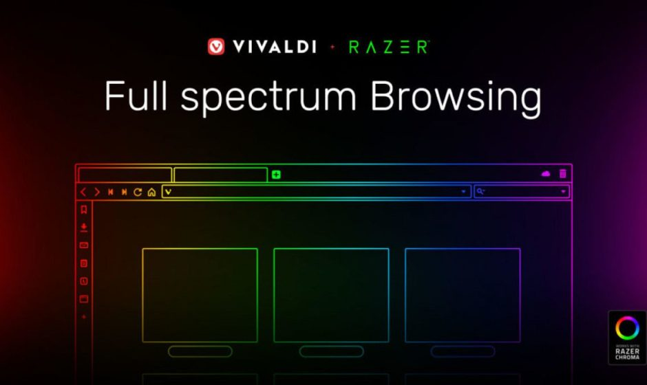 Vivaldi browser compatibile con Razer Chroma