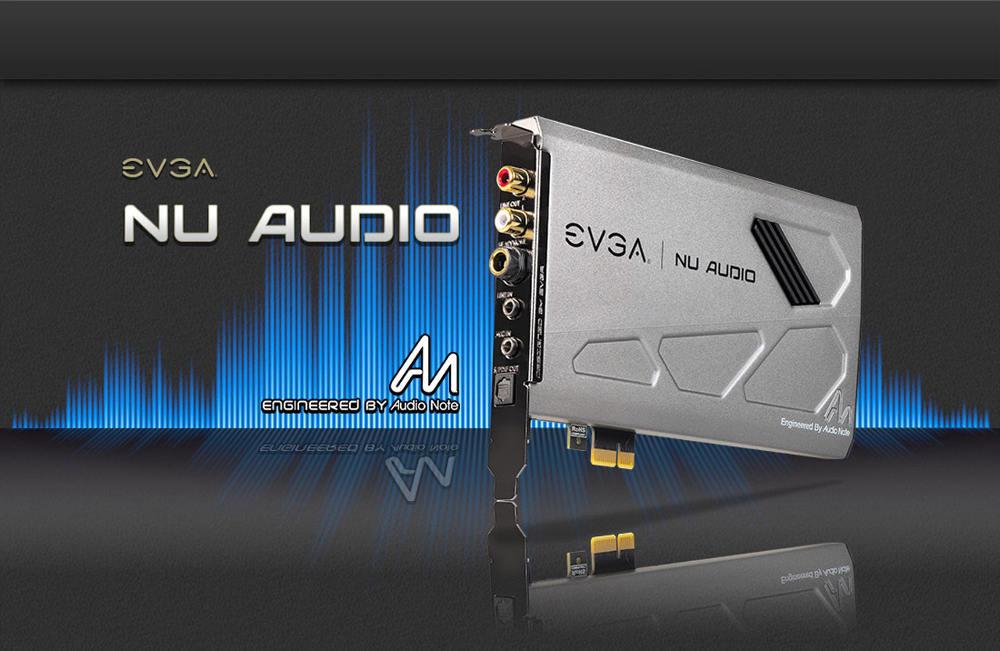 EVGA rilascia aggiornamento gratuito wsoftware per NU Audio CArd