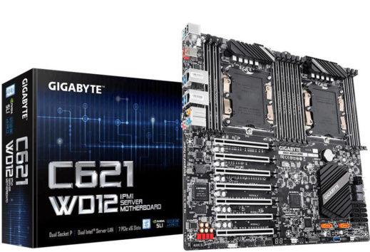 Gigabyte motherboard dual Xeon C621-WD12-IPMI
