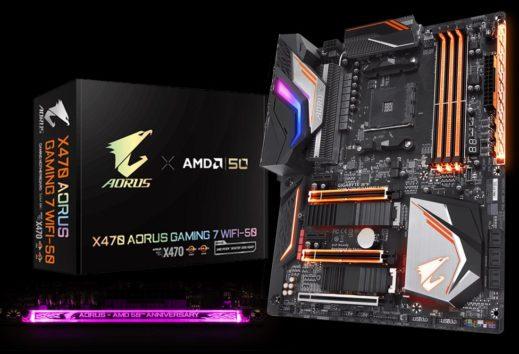 GIGABYTE: arriva la nuova scheda madre X470 AORUS