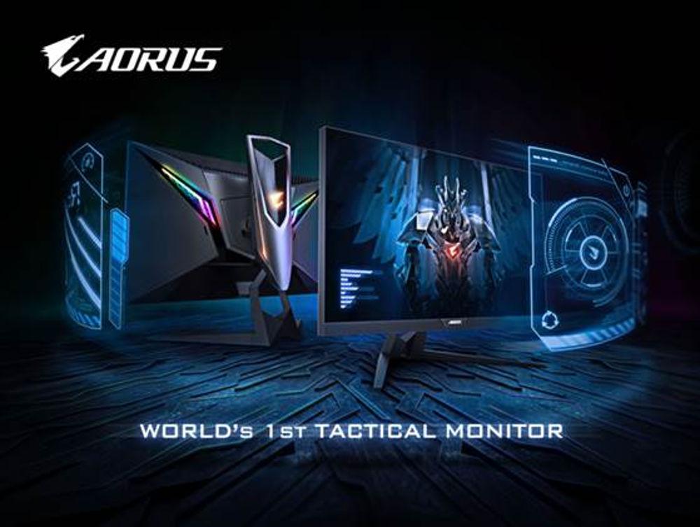 Aorus tactic monitor awarded
