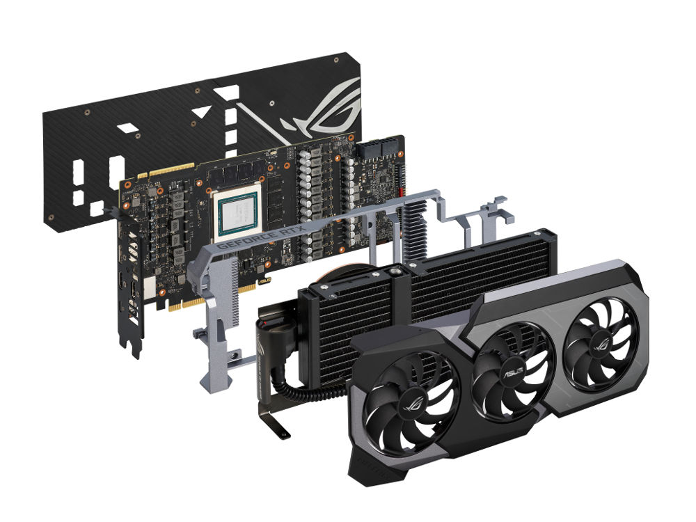 Asus ROG Matrix GeForce 2080 Ti cooler