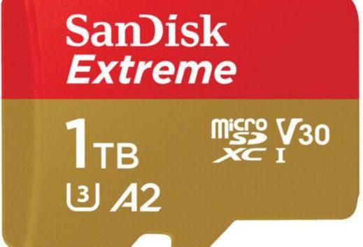 Prima card microSD SanDisk da 1 TB ora nei negozi