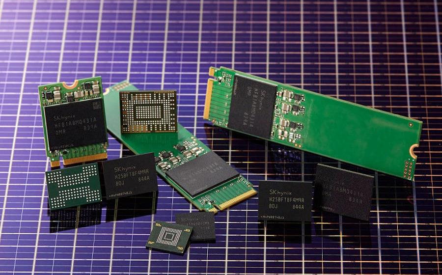SK Hynix - Rilascio 96-Layer QLC 4D NAND Flash