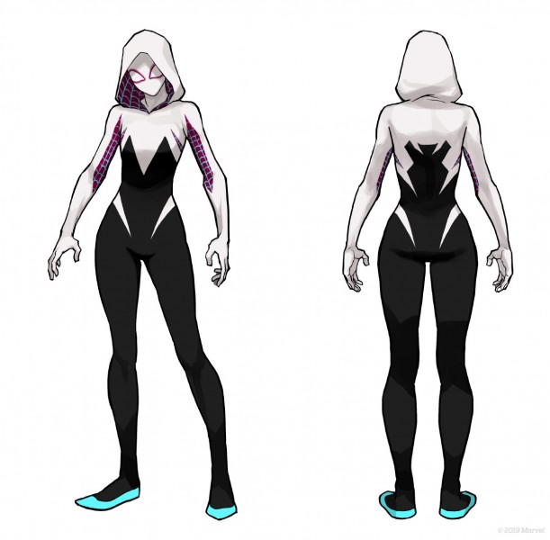 Modello di Spider-Gwen in Marvel Ultimate Alliance 3